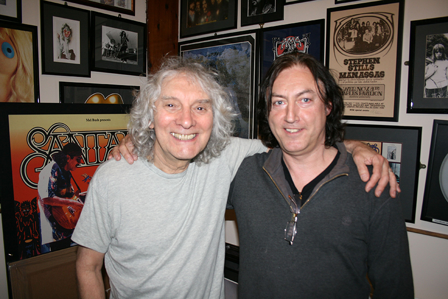Alan With Albert Lee