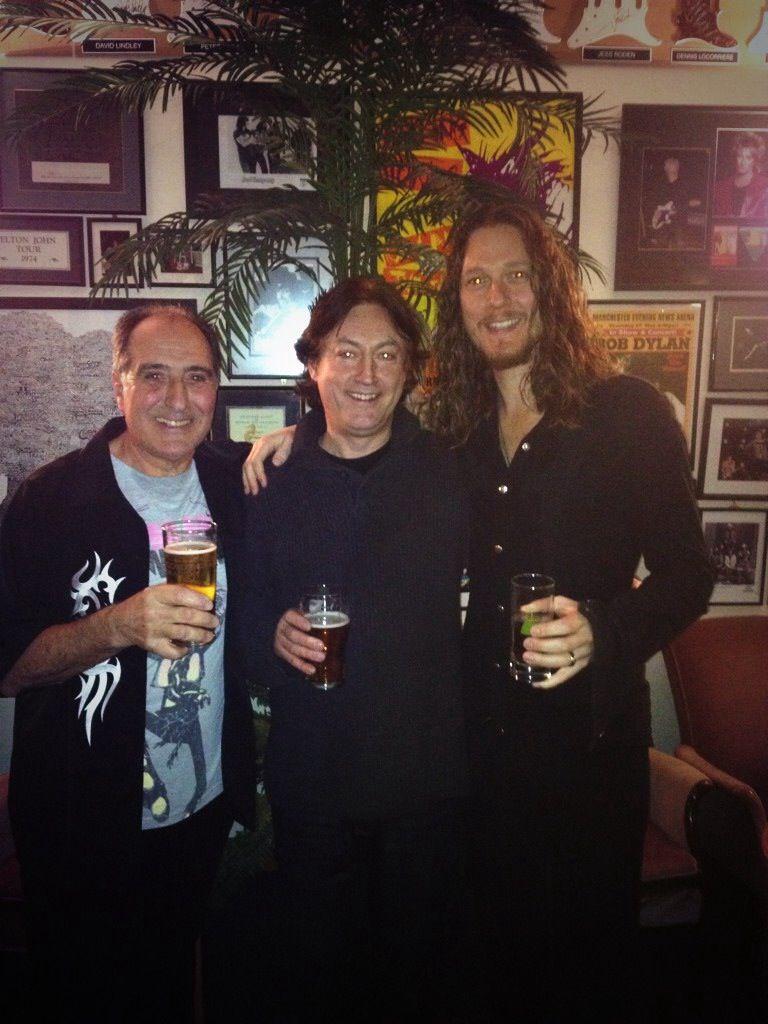Alan Thomson, Tony Frnandez & Adam Wakeman