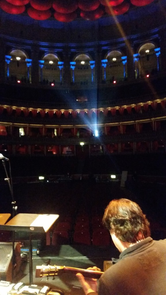 Alan Thomson At The RAH